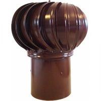 Дефлектор оцинкованный коричневый